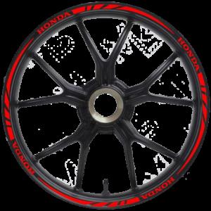 Наклейки на диски Honda